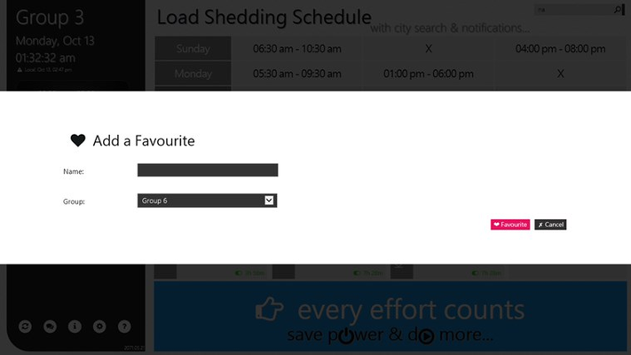 how to find load shedding group