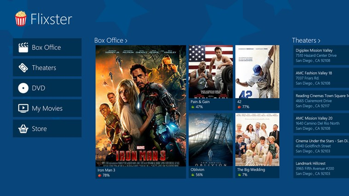 View newly released, theaters, upcoming, and new to DVD movies.