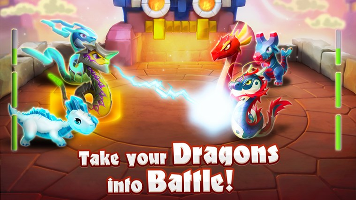 Take your dragons into battle!