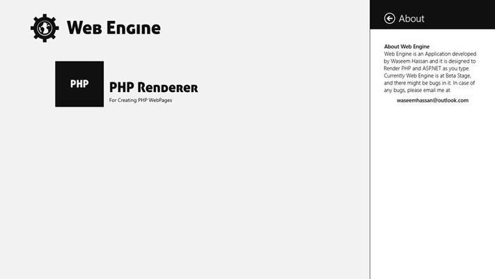 About Web Engine