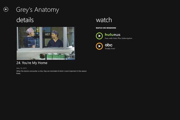 See Where TV Episodes Are Available to Watch