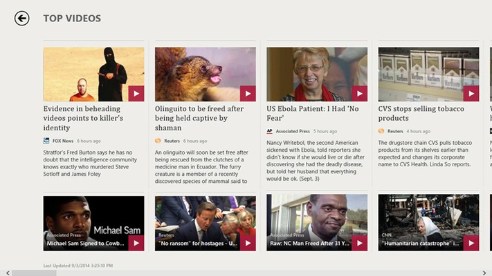 View the news with our selection of latest videos.