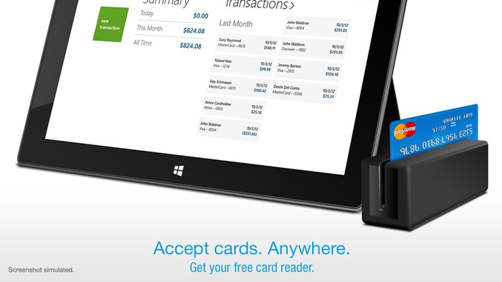 Credit Card Terminal for Windows 8