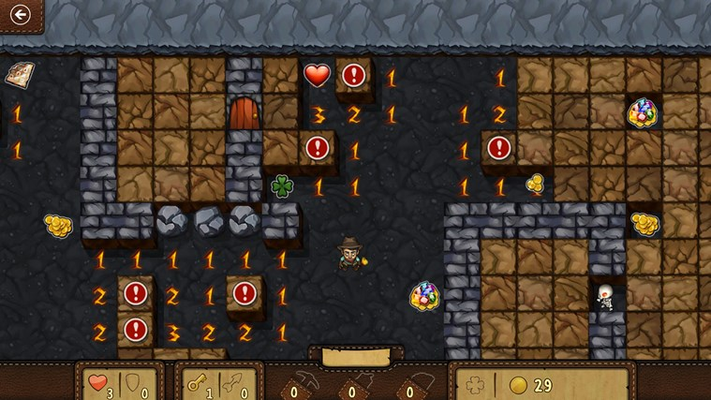 You never know what sort of surprises you'll uncover in Adventure mode!