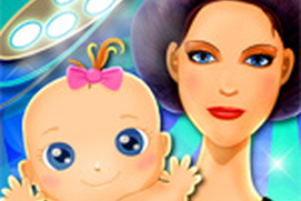Newborn Baby Birth - Little Girls Game
