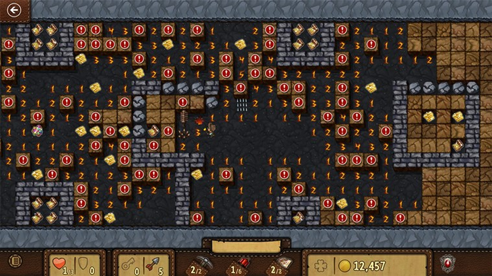 Can you find all the treasure without setting off any traps?