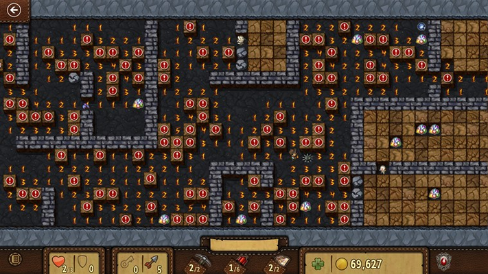 Exercise your brain! Microsoft Treasure Hunt takes the logic puzzle gameplay of Minesweeper's Adventure mode to a whole new level.