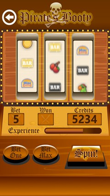 Play a three reel slot machine as well!