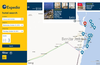 Explore hotels on a map
