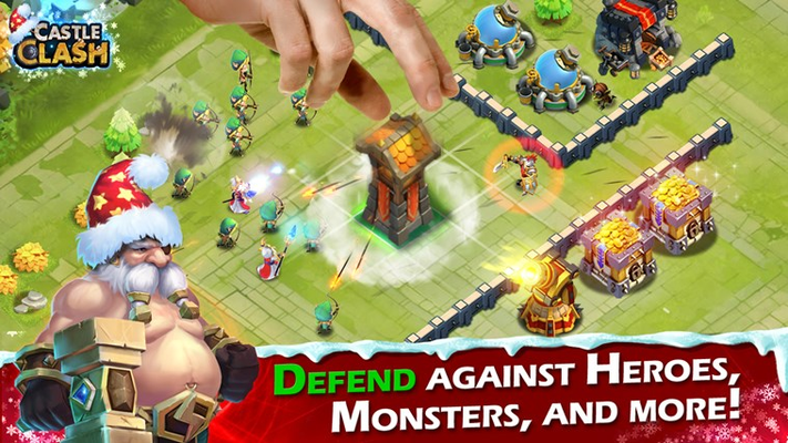 DEFEND AGAINST HEROES, MONSTERS, AND MORE!