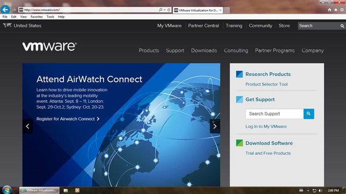 VMware Horizon for Windows 8