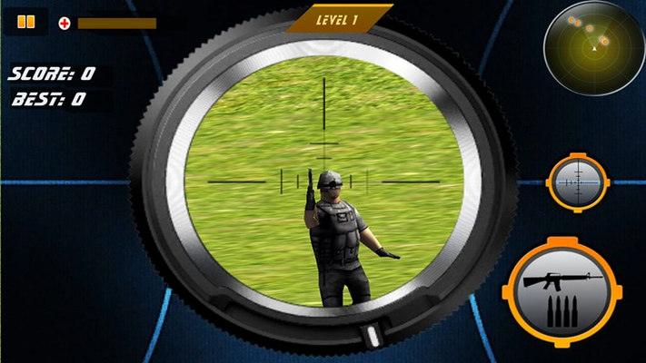 Mountain Sniper Shooting 3D for Windows 8