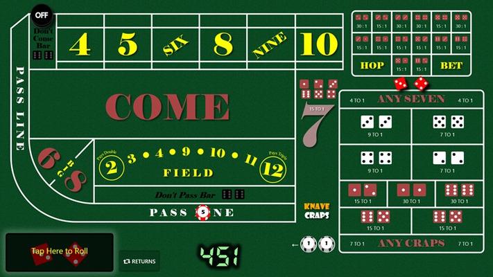 Craps casino game tutorial