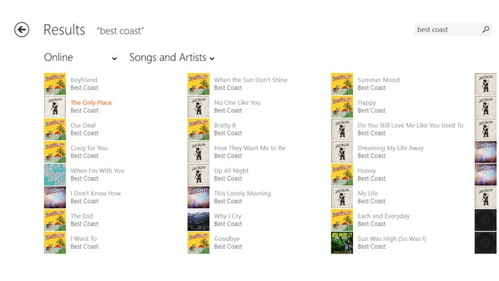 Musixmatch Lyrics & Music Player for Windows 8