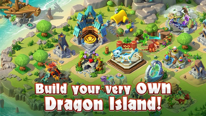 Build your very own dragon island!