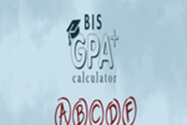 BIS GPA Calculator