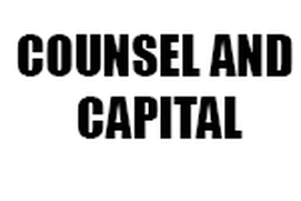 COUNSEL AND CAPITAL