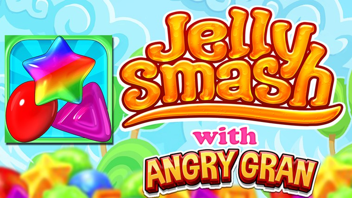 Smash Jellies in this Brand new Match 3 game