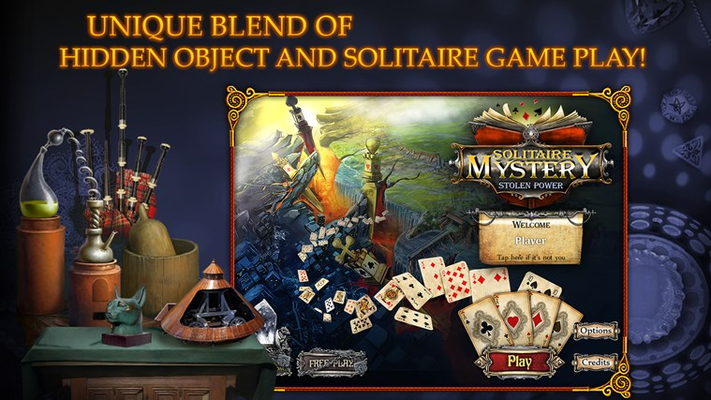 Solitaire Mystery: Stolen Power (Full) for Windows 8