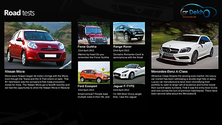 Read exhaustive car reviews from our car experts.