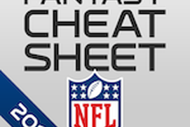 NFL Fantasy Football Cheat Sheet & Draft Kit 2014