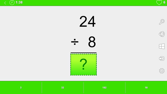 Math games help improve your arithmetic skills.