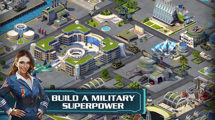 BUILD A MILITARY SUPERPOWER!