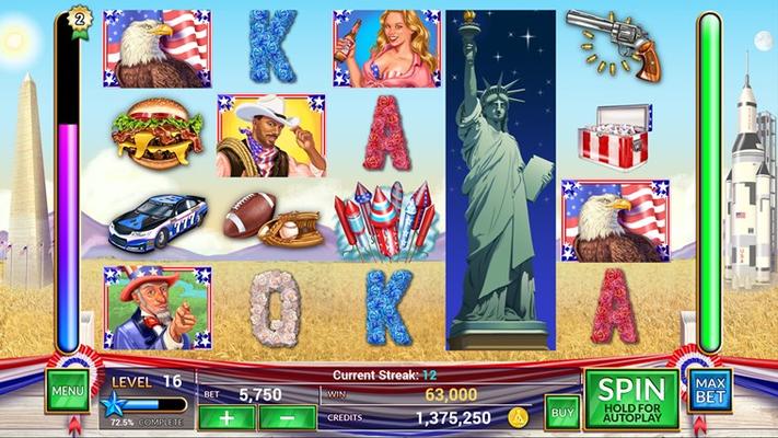 AMERICA:  LUCK YEAH!