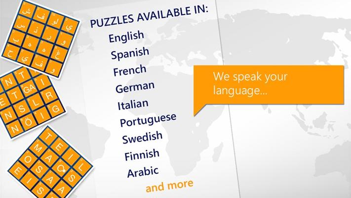 We speak your language!