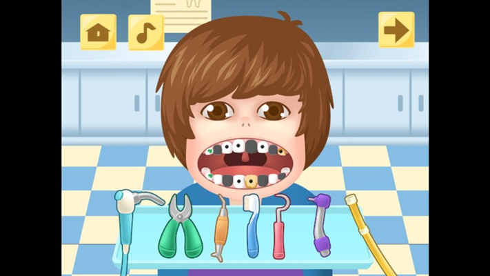 act as real dentist