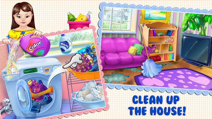 Clean Up The House!