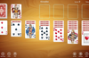 Play eight popular solitaire variations