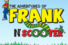 Coloring Book: The Adventures of Frank and Scooter