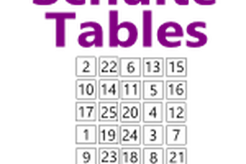 Schulte tables