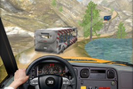 Off Road Tourist Bus Driving - Mountains Traveling