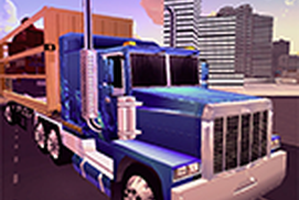 City Transport Cargo Truck Driver 3D