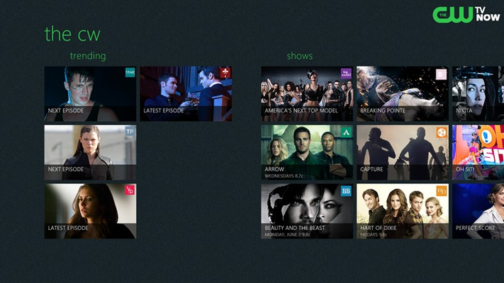 The CW for Windows 8