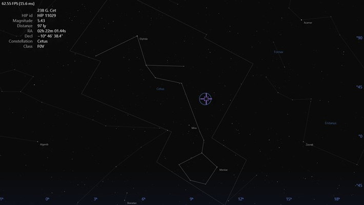 Star Pickers displaying additional data