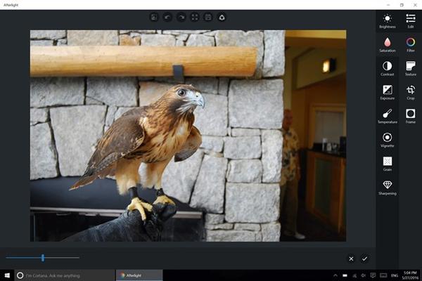 Image Editing Screen