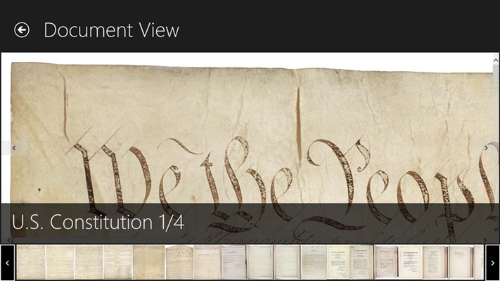 View high definition historical documents