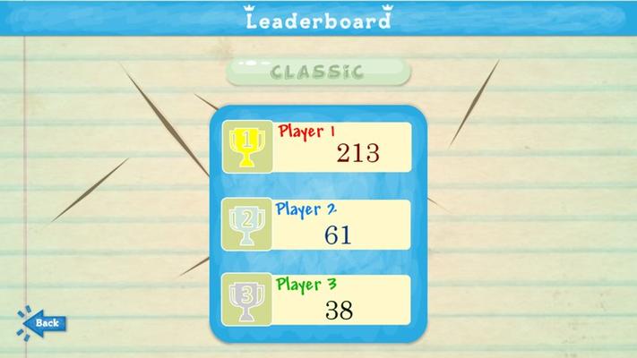 Track you best score!
