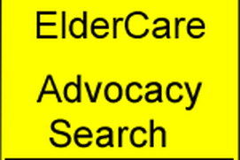 Elder Care Advocacy Search Tool