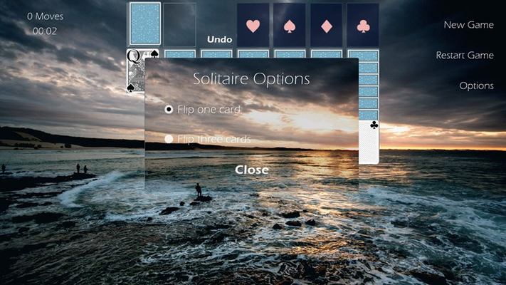 Solitaire Options