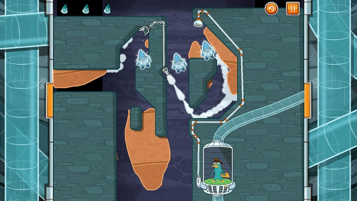 Turn water into steam to rise above the challenge and collect all the gnomes