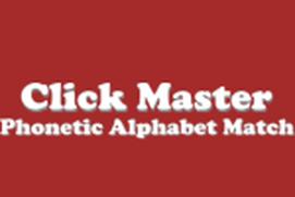 Click Master Phonetic Alphabet Match