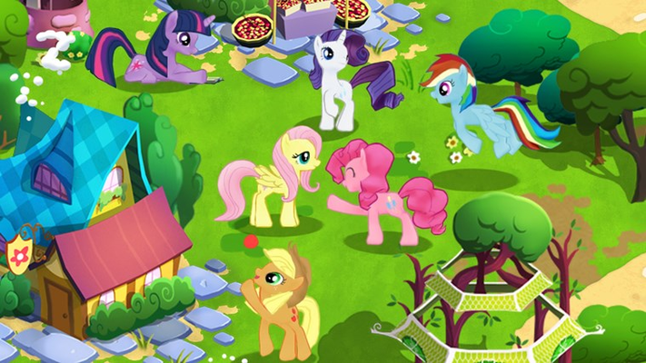 Have fun with your favorite ponies