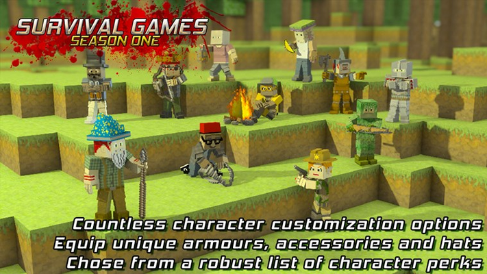 Countless character customization options!