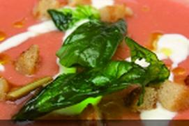 Deliciosas sopa de tomate