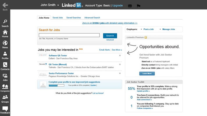 Search for jobs and companies.