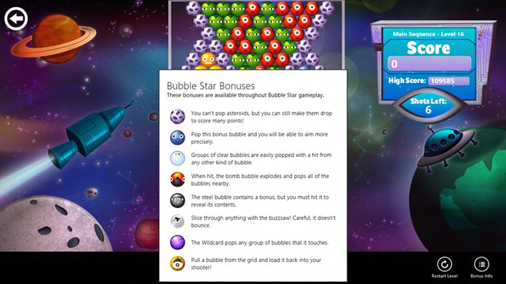 Bubble Star for Windows 8